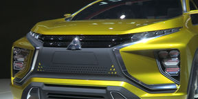 Mitsubishi eX Concept Walkaround : 2015 Tokyo Motor Show