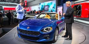 2016 Fiat 124 Walkaround : 2015 LA Auto Show
