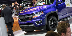 Chevrolet Colorado Z71 : 2015 LA Auto Show