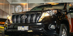 2016 Toyota LandCruiser Prado Manual - Quick Look