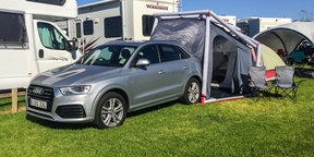 Audi Q3 Camping Tent Demonstration