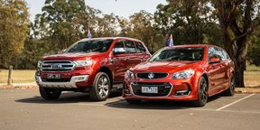 2016 Australia Day Special - Ford Everest v Holden Sportwagon