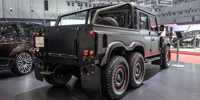 Kahn Flying Huntsman 6x6 Pickup : 2016 Geneva Motor Show