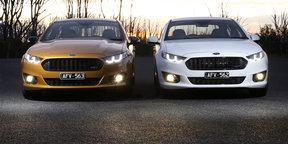 2016 Ford Falcon XR6 Sprint and XR8 Sprint Review —Exhaust note and burnout