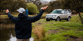Gone fishin': Land Rover Discovery 4