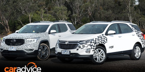 2018 Holden Acadia, Equinox quick drive review