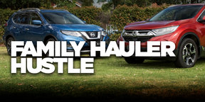 2018 Honda CR-V v Nissan X-Trail comparison