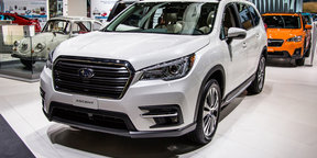 2018 Subaru Ascent revealed in LA