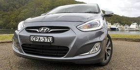 Hyundai Accent SR Video Review 2014