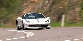 Ferrari 458 Spider Video Review 2014