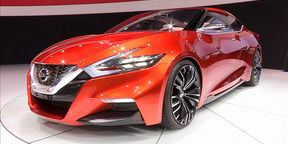 Nissan SportSedanConcept at NYIAS 2014
