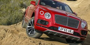 2016 Bentley Bentayga Review : First Drive