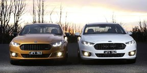 2016 Ford Falcon XR6 Sprint and XR8 Sprint Review — Exhaust note and burnout