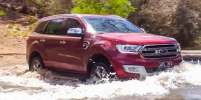 2016 Ford Everest — Terrain Management System (TMS) Off Road Review