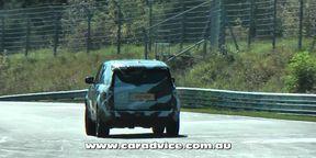 Next-Generation Range Rover spy video