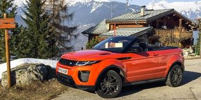 2017 Range Rover Evoque Convertible Review