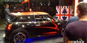 Mini JCW Unveiled in Australia at Mini Garage Sydney Launch