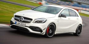 2016 Mercedes-AMG A45 Review : Track Test