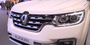 2017 Renault Alaskan - 2016 Paris Motor Show