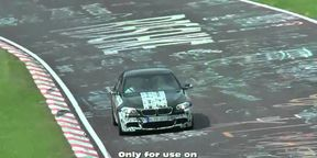 2011 BMW M5 spy video