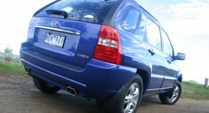 2008 KIA Sportage Review