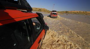 Land Rover 60th anniversary - cross Australia journey