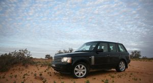 Land Rover 60th anniversary - cross Australia journey