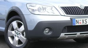 Skoda Octavia Scout Review & Road Test