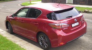 Lexus CT 200h F Sport Review
