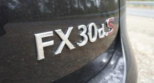 Infiniti FX30d Review