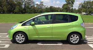 Honda Jazz Hybrid Review