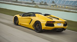 Lamborghini Aventador LP700-4 Roadster Review