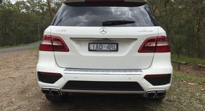 2015 Mercedes-Benz ML63 AMG Review