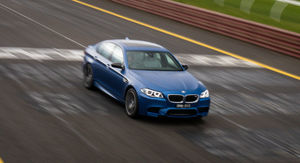 2015 BMW M5 Pure Edition Review : track test