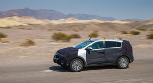 2016 Kia Sportage Review : Prototype Drive