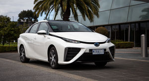 Toyota Mirai:: hydrogen fuel cell vehicle lands on Australian roads