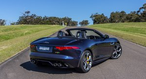 2015 Jaguar F-Type R Review : AWD Convertible