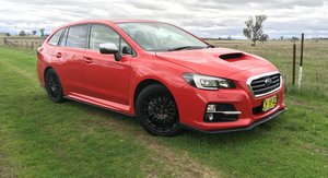 2017 Subaru Levorg Review
