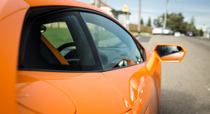 the huracan is low but its not impossible to get into or out of strengthening its daily use case ours is optioned with eye catching orange interior trim - Lamborghini Huracan Orange Interior