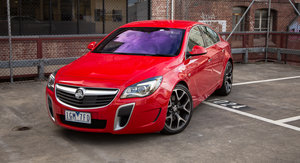 2016 Holden Insignia VXR: Long-term report two