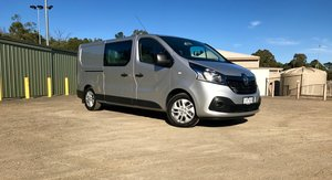 2017 Renault Trafic Crew review