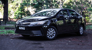 2017 Toyota Corolla Ascent Sedan review