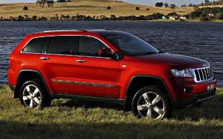 2011 jeep grand cherokee overland review caradvice. Cars Review. Best American Auto & Cars Review