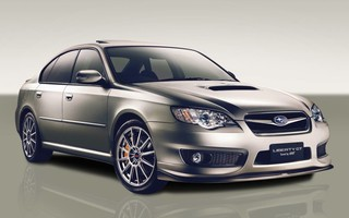 2007 SUBARU LIBERTY GT-B TUNED BY STi