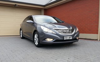 2010 Hyundai i45 Elite