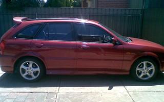 2002 Ford Laser SR2
