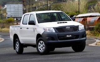 2012 TOYOTA HILUX WORKMATE