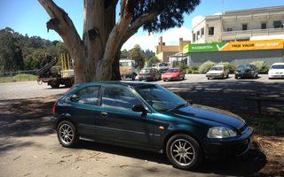 1996 Honda Civic Cxi Review