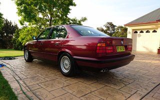 1994 BMW 540i Review