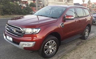 2016 Ford Everest Trend Review
